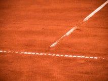 Теннисный корт выравнивается (113) Стоковая Фотография