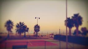 Теннисный корт Стоковое фото RF