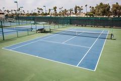 Теннисный корт Стоковая Фотография RF