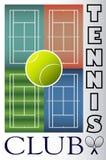 Теннисный клуб Стоковое Изображение RF