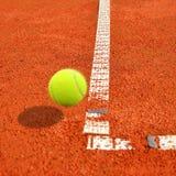 Теннисный мяч Стоковое Изображение RF