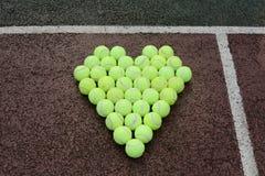 Теннис влюбленности Стоковая Фотография