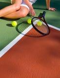 теннис игрока Стоковое Изображение