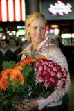 теннис игрока elena dementieva Стоковое фото RF