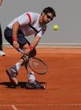 теннис игрока janko tipsarevic Стоковые Фотографии RF