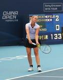 теннис игрока lena groenefeld anna ger Стоковое фото RF