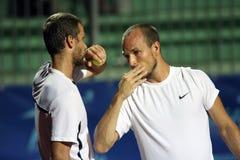 теннис игроков cerretani atp более rettenmaier Стоковые Изображения