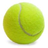 теннис изолированный шариком Стоковое Изображение