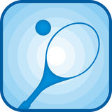 теннис иконы Стоковое фото RF
