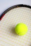 теннис оборудования Стоковое фото RF