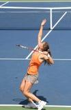 теннис подачи schnyder пирожка Стоковые Фото