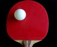 теннис ракетки летучей мыши шарика teble Стоковые Изображения