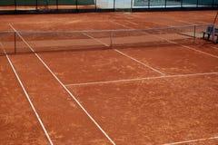 теннис спортивной площадки Стоковые Фотографии RF