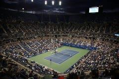 теннис стадиона ashe открытый мы стоковое фото rf