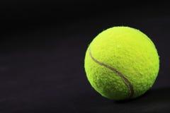 теннис студии съемки шариков предпосылки черный Стоковое Фото