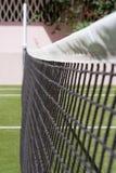 теннис суда сетчатый Стоковое Изображение