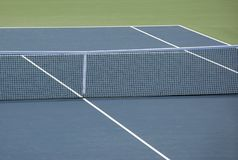 теннис суда трудный Стоковое Изображение
