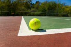 теннис суда шариков Стоковое Изображение RF