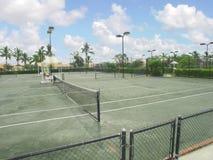 теннис суда стоковая фотография rf