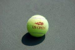 теннис суда 7 шариков Стоковые Фото