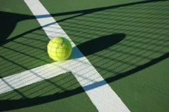 теннис тени Стоковые Изображения
