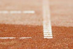 теннис части суда Стоковое Изображение