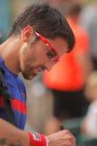 теннис 2012 janko tipsarevic Стоковые Фотографии RF