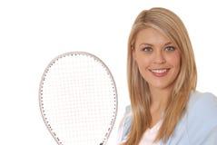 теннис 5 девушок Стоковое Изображение RF