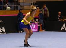 Теннис FedCup: Украина v Австралия в Харькове, Украине Стоковые Фото