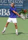 теннис peter удара слева polansky Стоковая Фотография