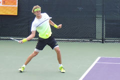 Теннис Professiona Александр Zverev ATP Стоковое Изображение RF
