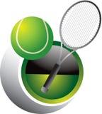 теннис swoosh иллюстрация штока