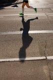 тень бегунка Стоковая Фотография RF