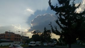 Тень бога стоковое фото
