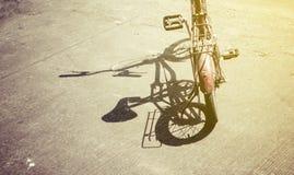 Тень велосипеда Стоковое Фото