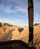 тень воздушного шара горячая Стоковая Фотография RF