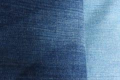 тень голубых джинсов Стоковое фото RF