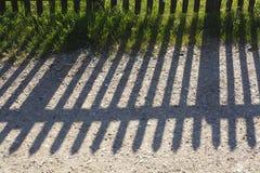 Тень загородки Стоковая Фотография