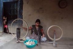 тень индустрии Индии руки Стоковое Фото