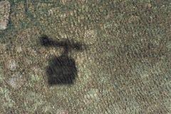 Тень кабины фуникулера Стоковое фото RF