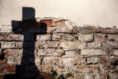 Тень креста Стоковая Фотография RF