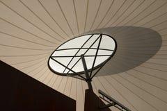 Тень на ветриле тени Стоковое Изображение
