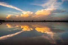 тень на воде Стоковые Изображения RF