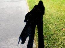 Тень на земном стиле перемещения Стоковая Фотография