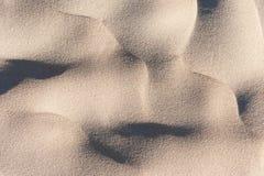 Тень на песке Стоковые Изображения RF