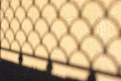 Тень на стене Стоковое фото RF