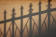 Тень на текстуре стены Стоковое фото RF