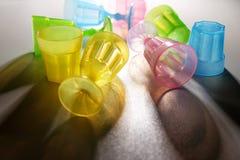 Тень пастельных бокалов Стоковое Фото