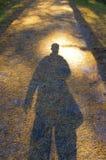 тень персоны Стоковые Изображения RF