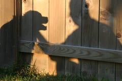 тень приятелей Стоковые Изображения RF